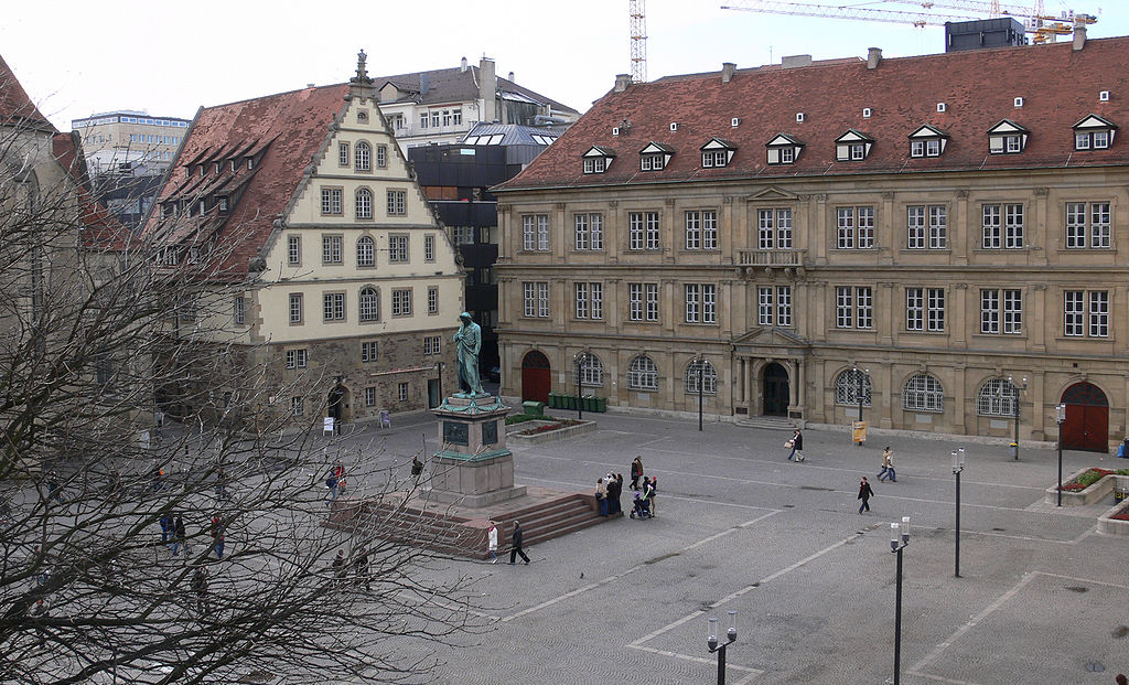 Stuttgart, Schillerplatz | ©Andreas Praefcke/WikiCommons