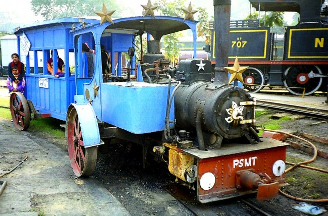 Patiala State Monorail System at National Rail Museum, Delhi © WikiCommons
