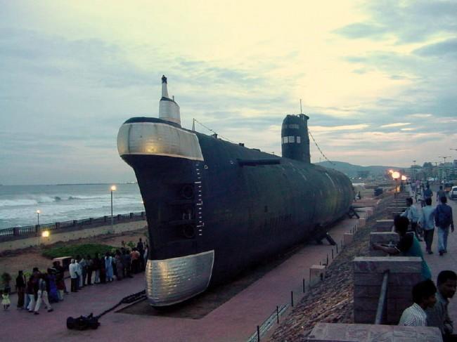 INS Kursura Submarine Museum, Vishakhapatnam © WikiCommons