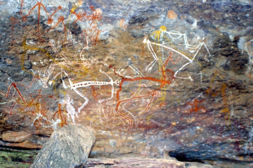 Aboriginal rock painting in Australia   © ejakob/Pixabay
