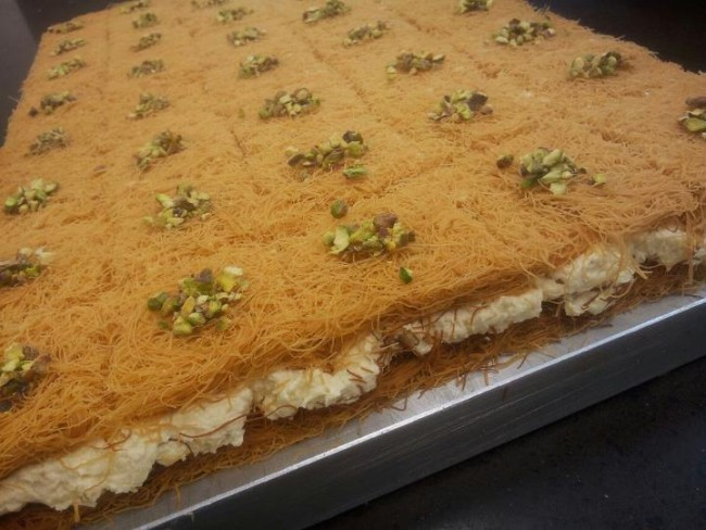 Knafeh | Courtesy of Balha's Pastry