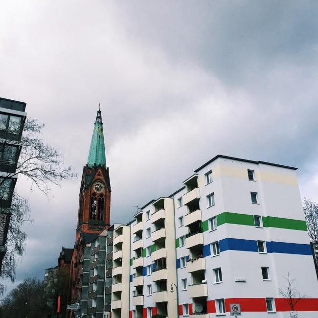 Blending old and new in Prenzlauerberg ©Camille Darroux // Berlin Disaster
