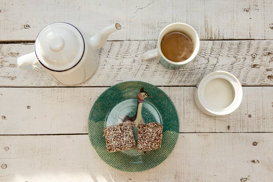 Tea and snacks | Courtesy of Black Cat Cafe