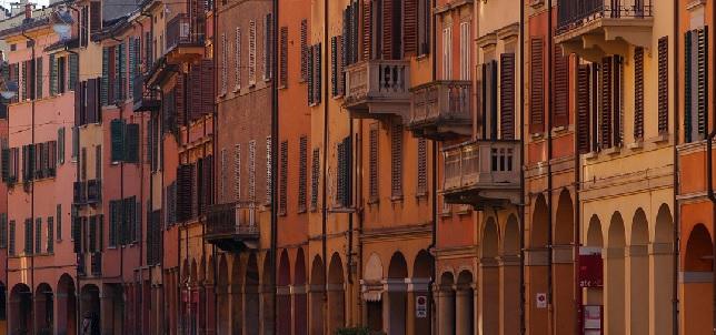 Portici in Via Saragozza entro :e Mura | © Francobraso/WikiCommons