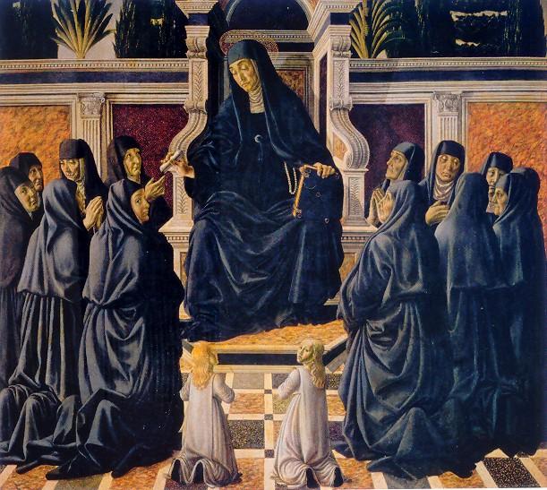 Francesco Botticini, Sposalizio di santa Monica | © Eugene a / WikiCommons