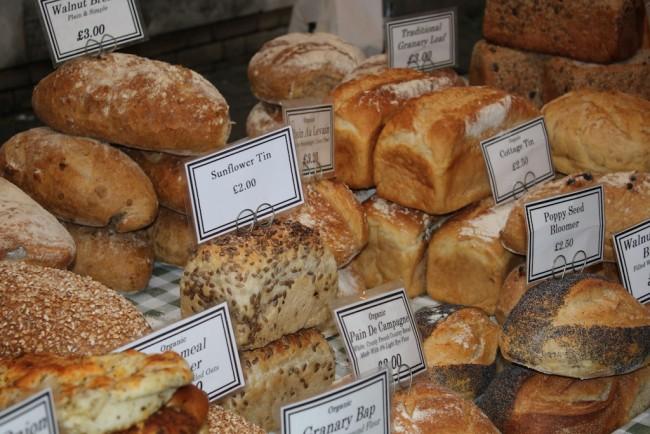 Redbournbury Mill Bread | Courtesy Usha Rowan