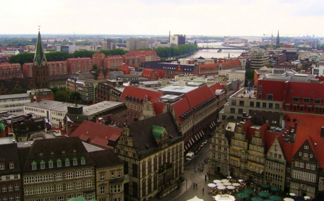 Bremen aerial view 9 | © Rami Tarawneh/WikiCommons