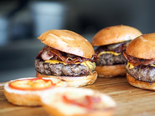 Burgers | © Unsplash/Pixabay