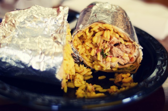 Burrito © C W / Flickr