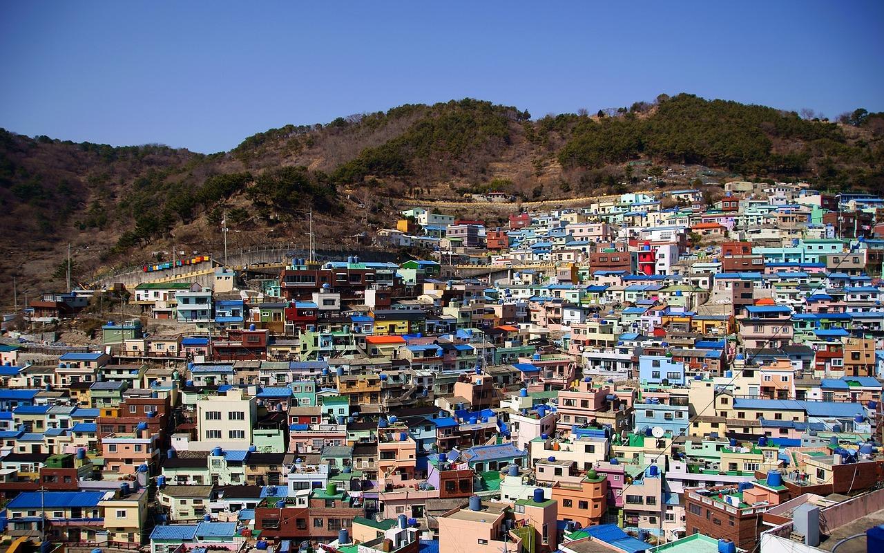 Gamcheon Cultural Village  © AldebaranTM/Pixabay