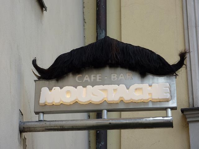 cafe moustache
