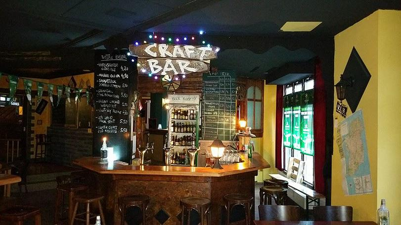 Craft Bar at The Castle Pub |©Castle Pub