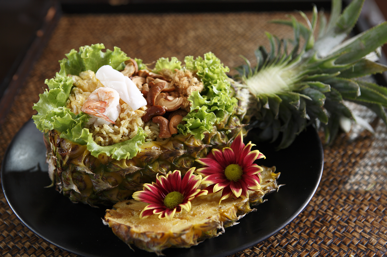 Baked-Rice-in-Pineapple | Courtesy of Home Dining Cafe and Lounge