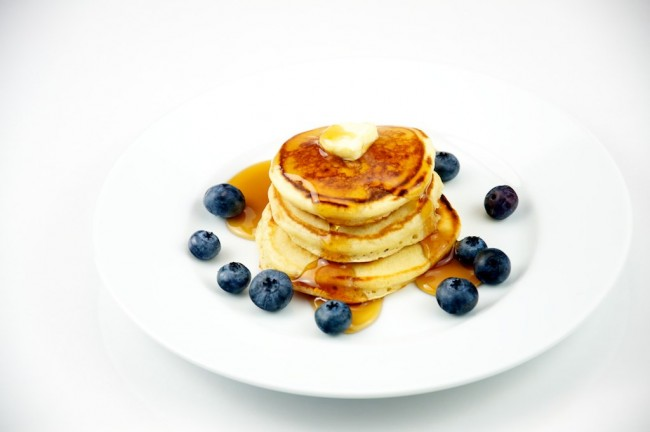 Silver Dollar Pancakes with Blueberries | © TheCulinaryGeek/Flickr