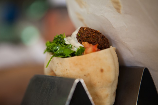 Falafel in a pita | © Israel_photo_gallery/Flickr
