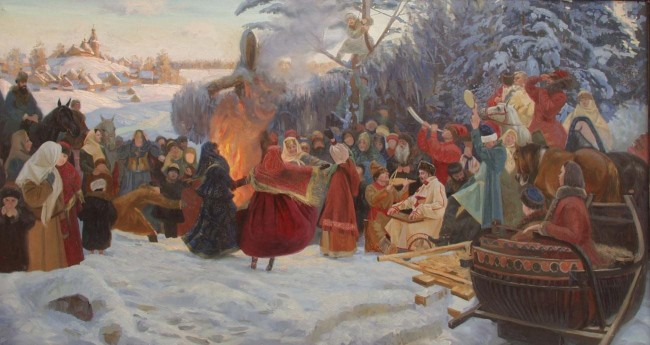 A depiction of Maslenitsa: an age old festival| © Simon Kozhin /Wikipedia