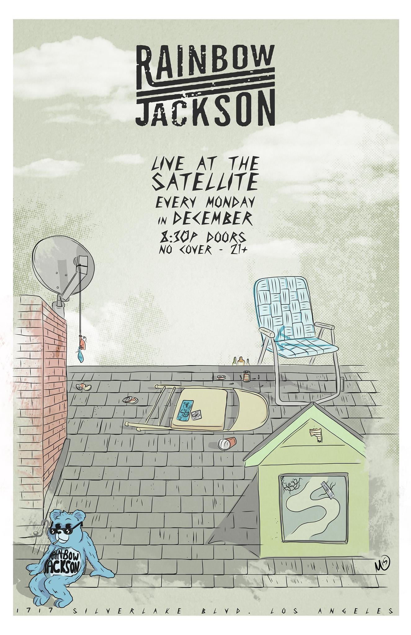 Monday Residency with Rainbow Jackson at The Satellite | © The Satellite