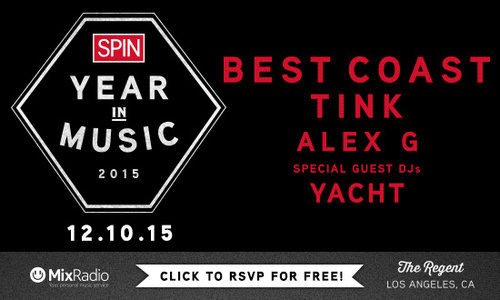 SPIN Year in Music 2015 | © SPIN & MixRadio