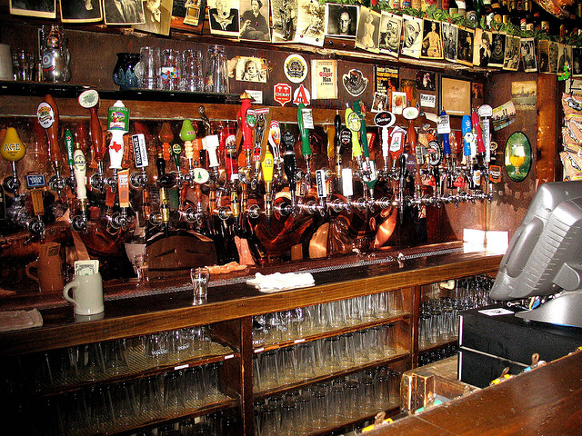 Beer Selection at The Ginger Man | © Christopher/Flickr