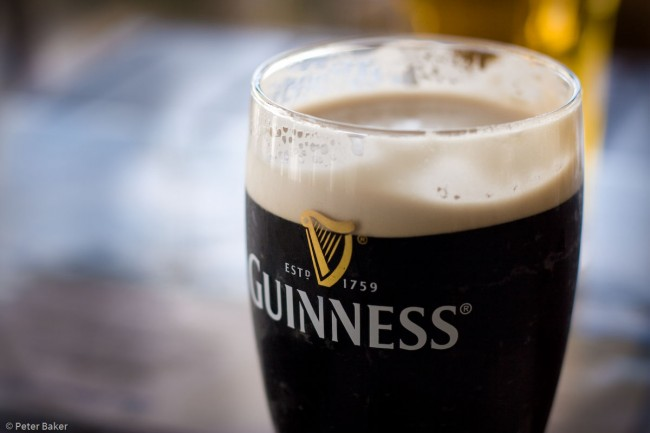 Guinness on a rainy day | © Peter Baker/Flickr