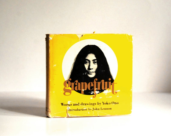 Grapefruit by Yoko Ono, published by Simon and Schuster