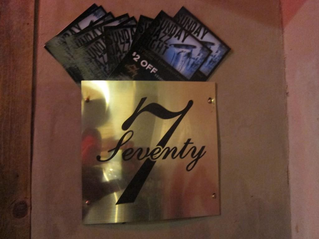 Seventy7 Lounge ©memoeats