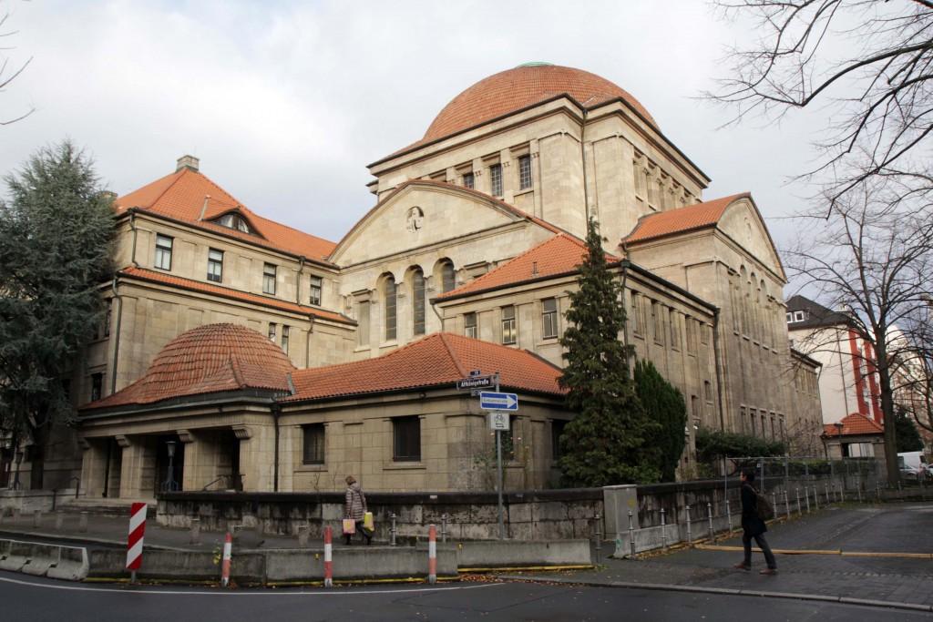 Westend synagogue frankfurt © Quer durch Frankfurt am Main