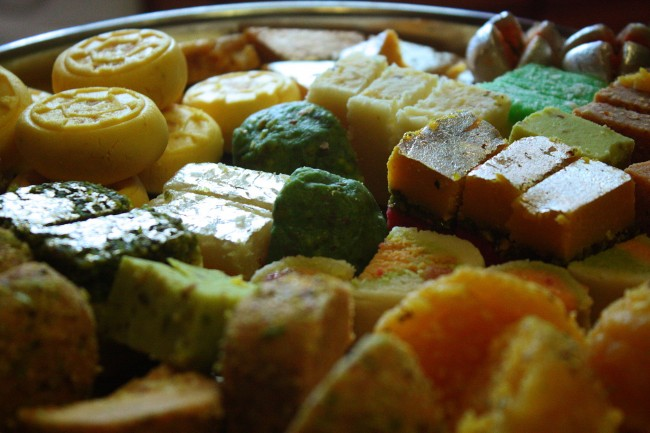 Indian Sweets  © robertsharp/Wiki Commons