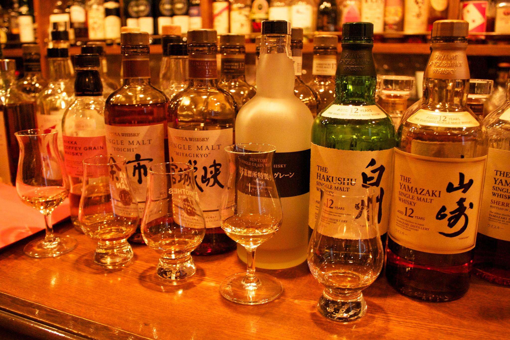 Japanese whiskey © jit bag / Flickr