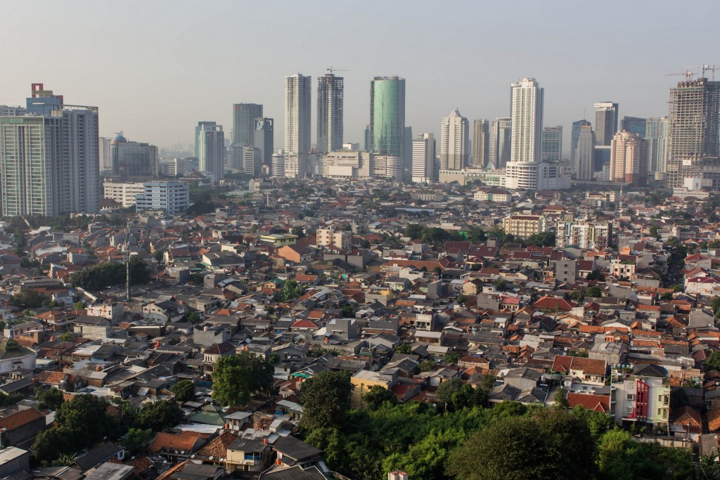 The capital city of Indonesia, Jakarta © Stefan Magdalinski / Flickr