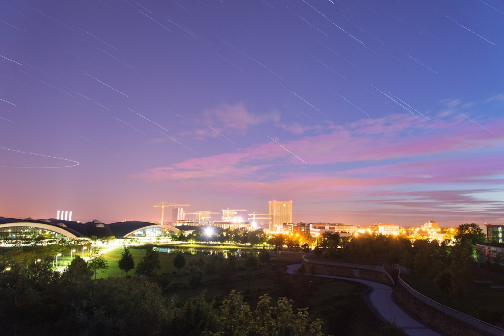 Evening in Kirchberg © Tristan Schmurr / Flickr