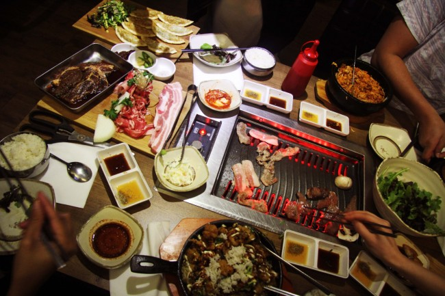 Korean BBQ © Sophie Knight