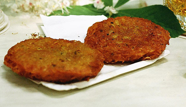Perfectly fried potato latkes / © Wikicommons