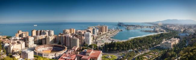 Malaga photomerge | © Paolo Trabattoni/Flickr