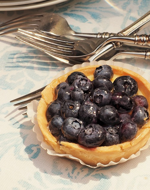 Blueberry tart | © dbreen/Pixabay
