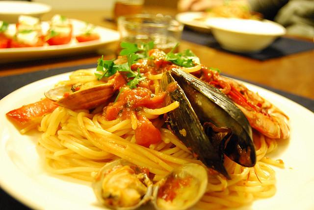 Italian pasta | © Miyo Sekimoto/Flickr