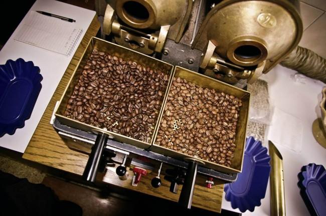 Roasting beans | courtesy of Nuevo Mundo