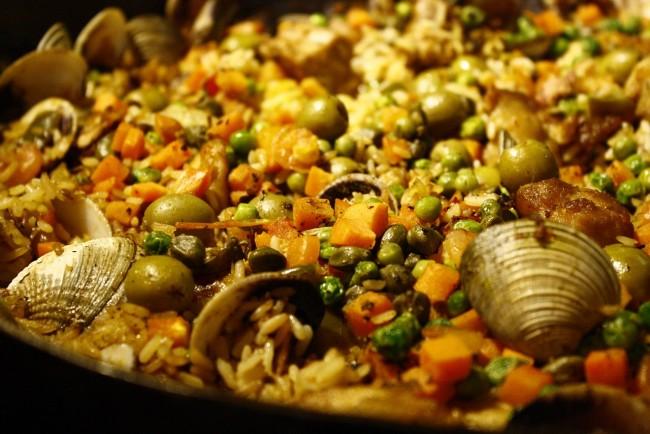 Seafood, Paella| © Senlay/Pixabay