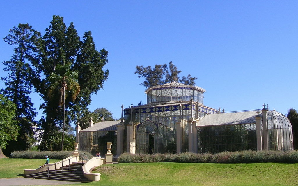 Palm House in the Adelaide Botanic Garden | © Peripitus/Wikimedia Commons