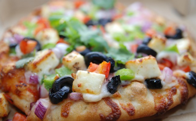 Pepper Paneer Pizza | © Anish Palekar/Flickr