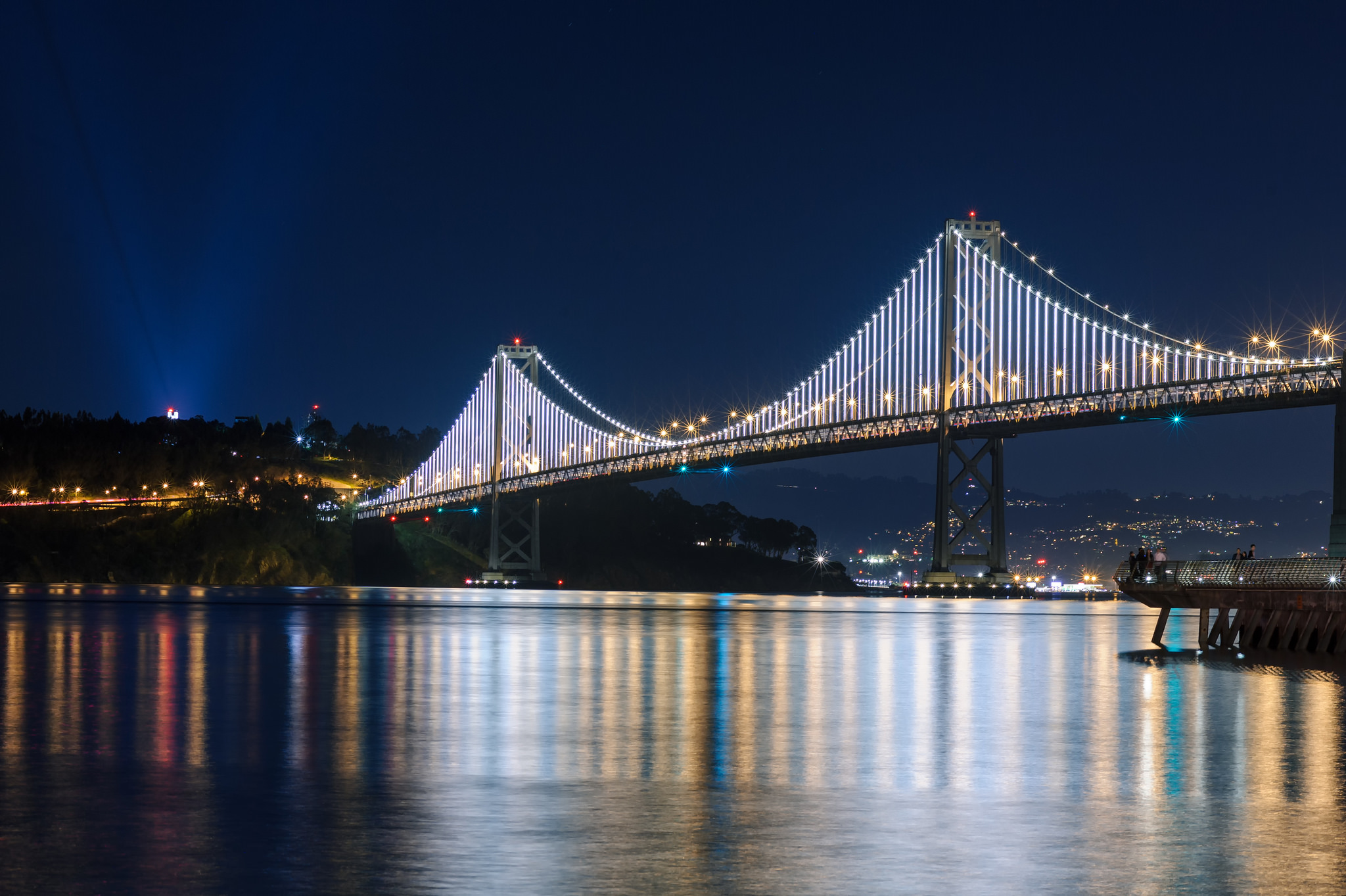 Bay Lights | © PROEric Kilby/Flickr