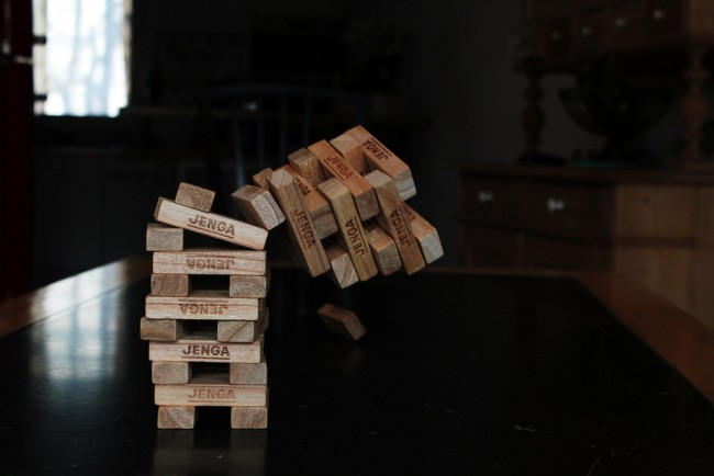 Enjoy A Game of Jenga at Timeline | © Mara Tr./Flickr