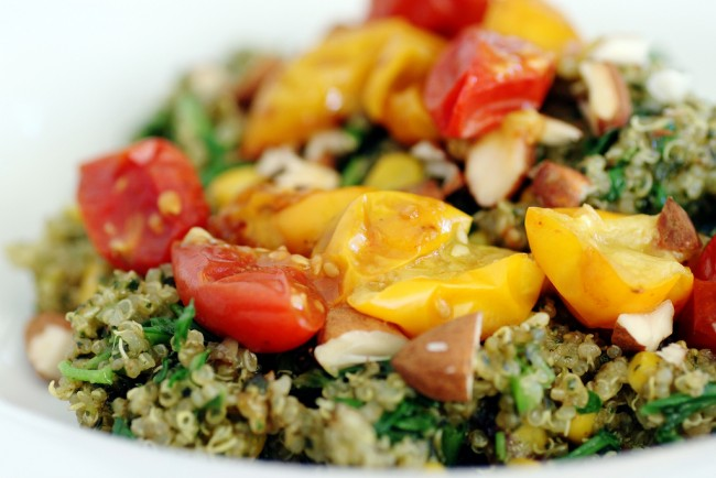 Quinoa with roasted vegetables | © Stacy/Flickr