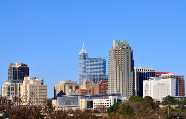 Raleigh Skyline| © James Willamor /Flickr