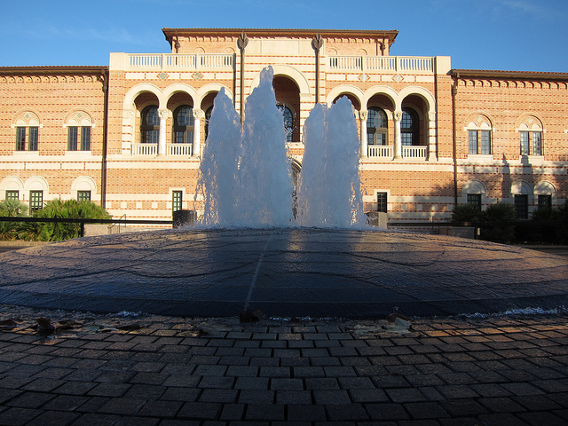 Rice University Fountains | © Nathan Yergler/Flickr