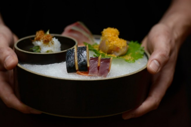 Sushi dish | courtesy of Rōnin (©Jason Michael Lang)
