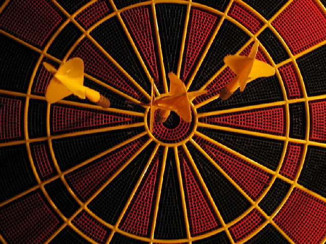 Darts | © zaphosotherhead/Flickr