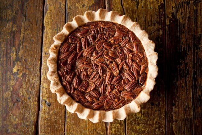 Salt Lick's Pecan Pie | © Kenny Braun/Courtesy of Salt Lick BBQ
