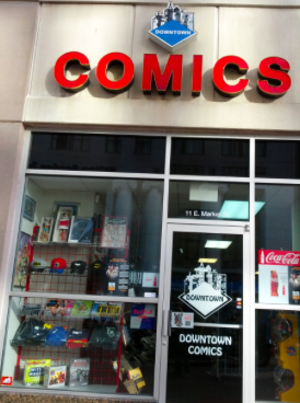 Courtesy of Downtown Comics