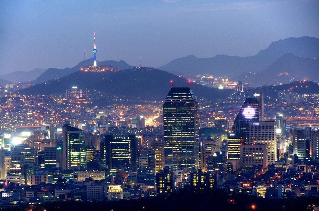 modern cities, seoul